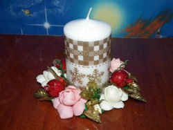 Подставка под свечку