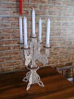 Подсвечник «5 свечей» ДШВ: 250х250х380. Материал: фанера береза 4мм.