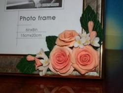 """Рамка для фото 15х21 см. """"Розы"""""""