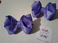 """резиночки """"Міні-3D бантики"""" (однотонні)"""