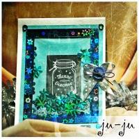 Очень милая открытка, которая станет чудесным подарком на новый год или Рождество! Больше открыток тут: https://vk.com/otkryitki_juju https://www.facebook.com/jujumagiccards Открытки Ju-Ju приносят счастье!