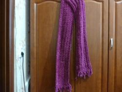 шарф очень теплый . Длина 192 см