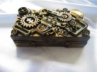 шкатулка-купюрница в стиле Стимпанк (Steampunk) втехнике Асс