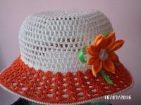 Виготовлю на замовлення для вашої донечки чудову шляпку. Термін виконання - 3-5 дні