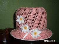 Ця чудова шляпка приємно порадує вашу донечку. Шляпок багато не буває ! Купуйте! Виготовлю на замовлення за 3-5 днів..100% бавовна.