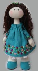 Интерьерная, текстильная кукла. Ручная работа. Материалы: Трикотаж(65% вискозы), лён, батист, холлофайбер. Рекомендации по уходу: Сухая чистка.