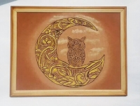 Сова є символом пізнання, проникливості та мудрості.... Картина_панно_Сова_оригінальний подарунок для дитину та чудове доповнення до інтер
