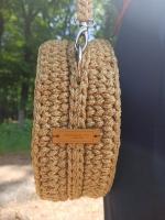 Сумочка из полиэфирного шнура/ женская сумочка для себя