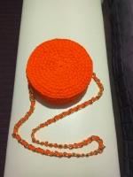 Сумочка женская из трикотажной пряжи/ сумка жіноча