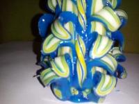 Свеча Голубой светок