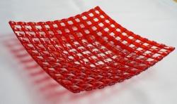 Тарелка из стекла ручной работы, изготовленная по технологии фьюзинг. Размер 21х21 см. Сделаю на заказ. Изготовление возможно по ваших размерах и в выбранной гамме цветов. Срок изготовления 5 дней. Точная копия не возможна.