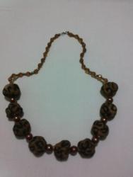 текстильное ожерелье 09