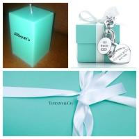 Свеча в стиле Tiffany&Co