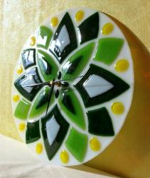 """Часы """"Зелёная звезда"""""""