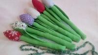 Квіти Тюльпани ручна робота. Ціна за 1 шт.