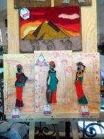 """Триптих """"Африканские женщины"""""""