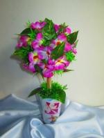 """Цветочный топиарий """"Весна"""""""