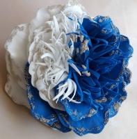 Прекрасное украшение для волос или одежды. Сделано из фоамирана, не боится влаги. Ручная работа