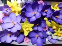 Цветы из фоамирана ручной работы.Изготовление украшений, аксессуаров для волос по вашим фото и эскизам.