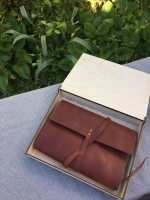Упаковочная деревянная коробочка