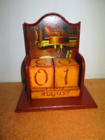 Вечный календарь Домашний уют- оригинальный подарок