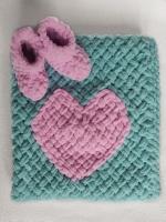 Ідеальний подарунок для новонароджених, на виписку. Плед можна зв