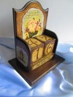 Винтажный вечный календарь - оригинальный подарок, сувенир