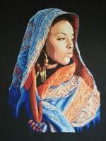 Вишита картина ′Аравійска леді′