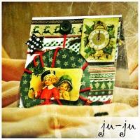 Очень милая открытка, создающая настроение домашнего праздника и уюта. Прекрасный сувенир близким! Больше открыток тут: https://vk.com/otkryitki_juju https://www.facebook.com/jujumagiccards Открытки Ju-Ju приносят счастье!
