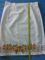Вышитая юбка - плахта
