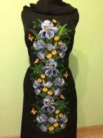Вышитое платье , заготовка для пошива платья