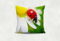 Интерьерная подушка - цветочная. Ручная работа!