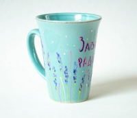 Завжди радійте / Розпис чашок з малюнком і написом з Біблії